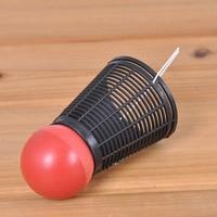 10pcs Lot Leo Badminton Playing Feeding Device To Send Bait Device Bait Fishing Gear Tools Seduce