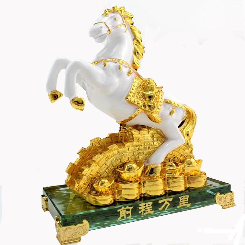 Livraison gratuite or zodiaque succès articles d'ameublement cristal maison feng shui mascotte parure affaires cadeaux commémoratifs