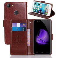 GUCOON Vintage Wallet Case For HomTom HT50 5 5inch PU Leather Retro Flip Cover Magnetic Fashion