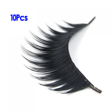 JEYL Hot 10 pairs Long and Black Artificial Eyelashes
