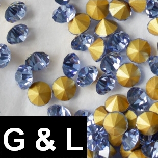 Ss11.5-ss25 Light Sapphire Color Pointback Rhinestones Glass Material Beads Used For Jewelry Nail Art Decoration ss11 5 ss25 siam color pointback rhinestones glass material beads used for jewelry nail art decoration