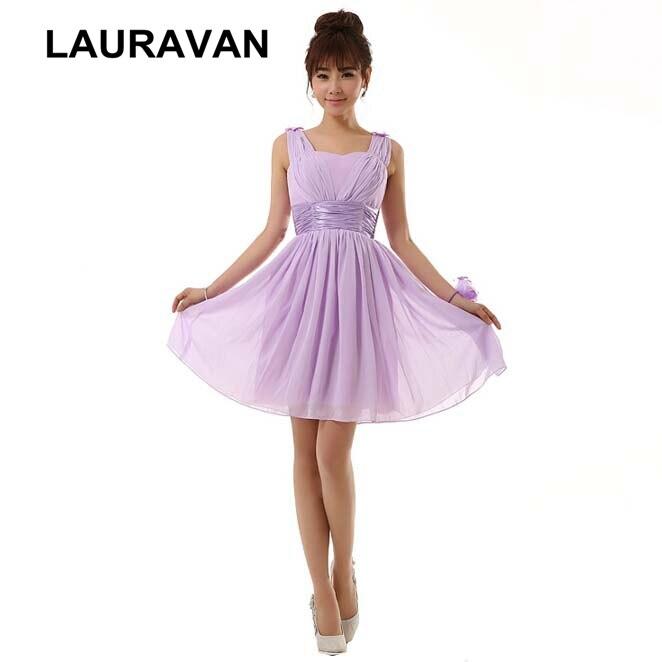 girl lilac light purple chiffon sweetheart plus size   bridesmaid     dresses   lavender women princess   dress   14 size short vestido gown
