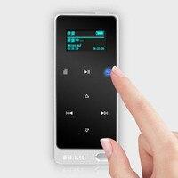 Ruizu X05 8GB 16GB ultra thin Touch Portable Lossless Digital Sport Screen Hifi Audio Mp 3 Mini Music Mp3 Player FM Radio