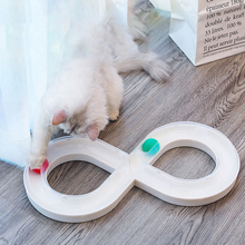 JORMEL Plastics Turntable with Ball Funny Puzzle Cat Toy Non-slip Detachable Toys Tunnel shape For the cat toys