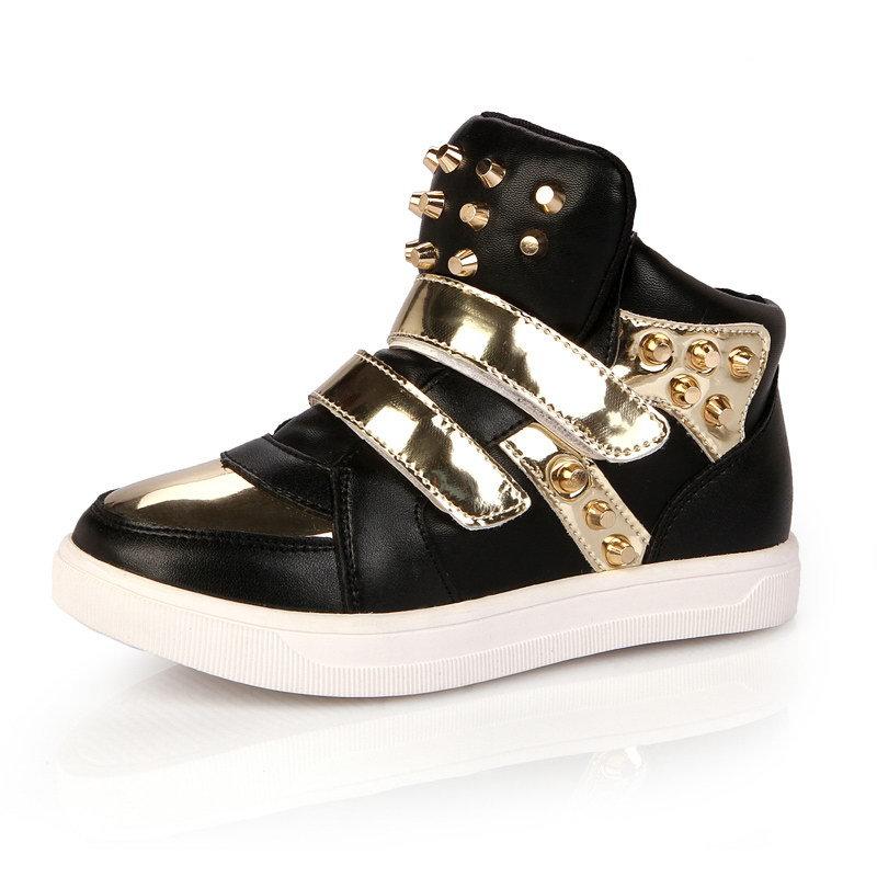 a953f393b1d86 Zapatos de los niños Brillantes Zapatillas de Bebé Niños Niñas Zapatos de  Deporte Zapatos Nuevo Otoño