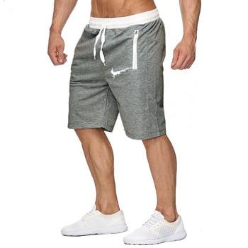Chándal Rodilla Bermuda 2019 Color Patchwork Rupa La Ocio Pantalones Hasta Joggers Cortos Hombres AR5L3jq4