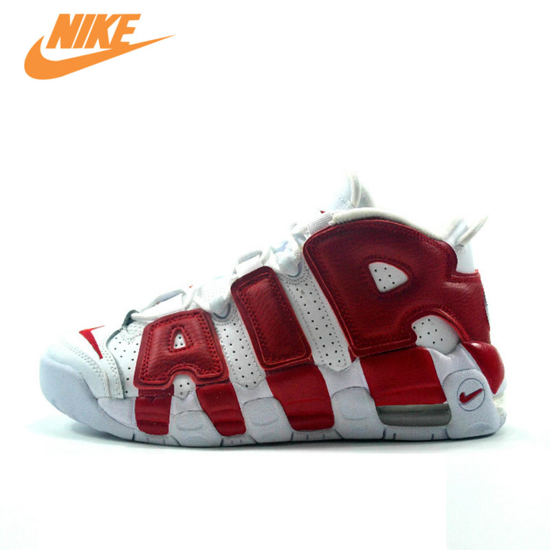 Original New Arrival Authentic Nike Air More Uptempo Men's Basketball Shoes Sports Sneakers Trainers все цены