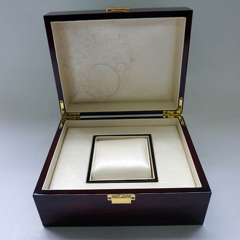 2018 New Design Storage Luxury International Watch Box Watch Mechanical Print lOGO Box Custom Logo Gift Wooden Box Watch Display