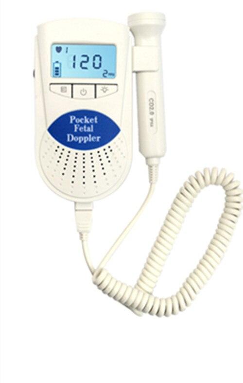 FETAL DOPPLER 2 mhz FETALEN HERZFREQUENZ MONITOR baby herzschlag detektor, FHR, Freies Verschiffen