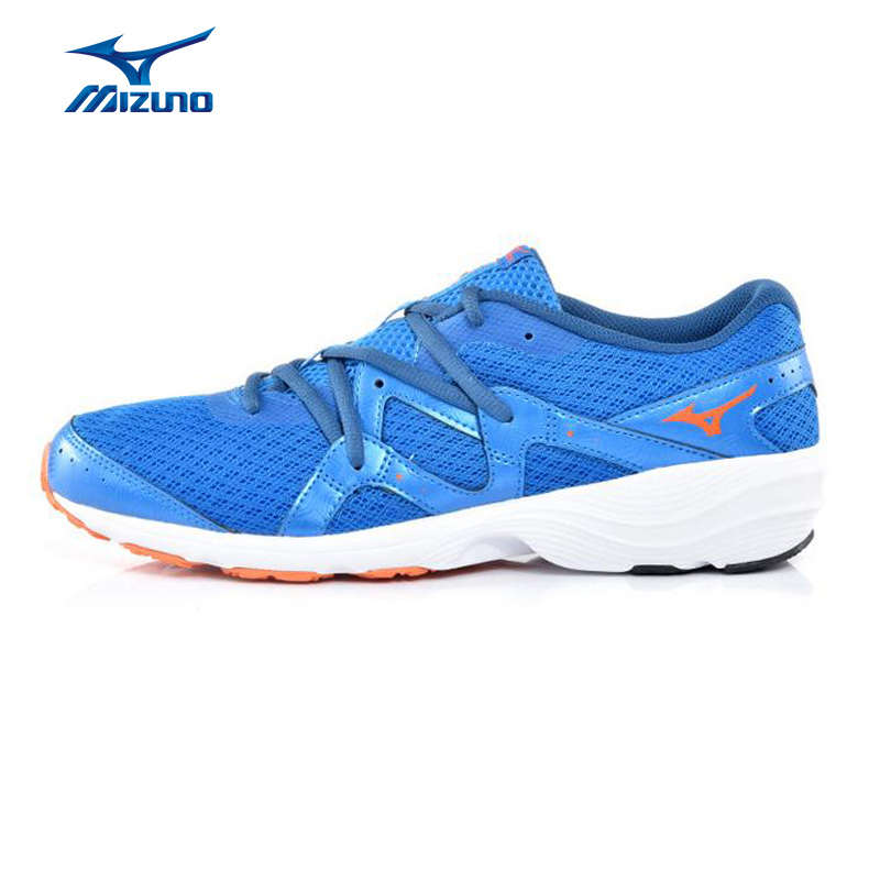 MIZUNO Men PRIMA BEAT Mesh Breathable Light Weight Cushioning Jogging Running Shoes Sneakers Sport Shoes J1GG142829 XYP363 mizuno men s sports beathable cushioning soccer shoes monarcida fs as light sport shoes sneakers p1gd152301 yxz003