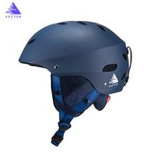 Man Women Snowboard Ski Helmet Ultralight Skiing Helmet Professional CE Certification ABS Skateboard Skiing Helmet Size 61-65cm цена в Москве и Питере