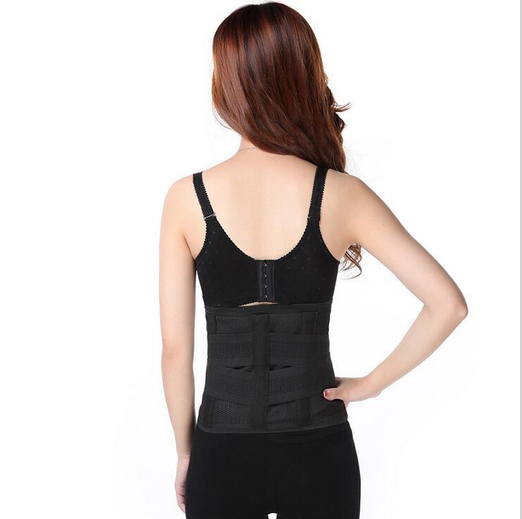 Luxury Postpartum Women abdomen Shaper Breathable Slimming wraps Waist Control Body Shapewear Trainers MR056 2