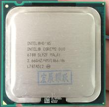 Процессор Intel Core2 Duo E6700 (4 МБ кэш, 2,66 ГГц, 1066 МГц) Двухъядерный процессор LGA775 настольный процессор AliExpress стандартной доставкой