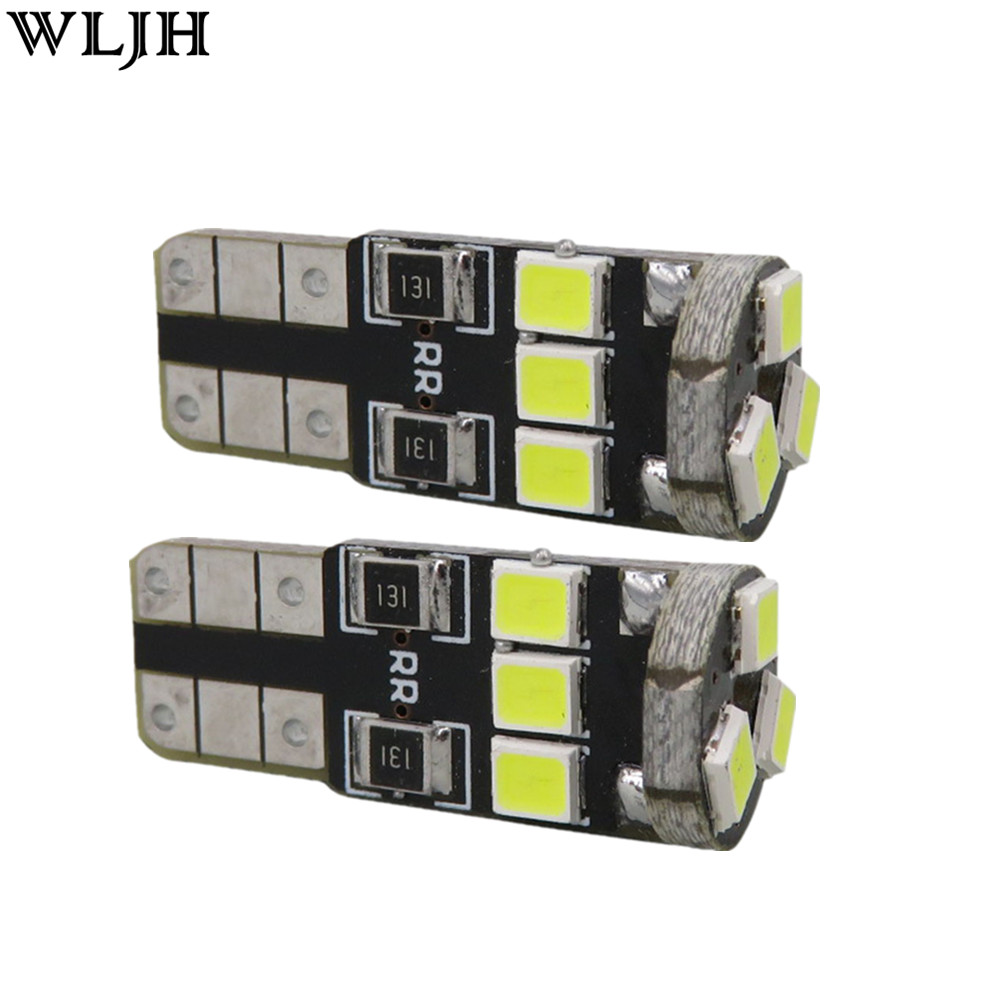 WLJH 6x Led Panel T10 W5W Bulb 2835 SMD Dome Map Step Courtesy Trunk Interior Light Package for Lexus IS300 2001-2005