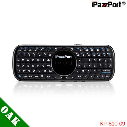 Free Shipping - iPazzPort KP-810-09 2.4G Mini Wireless Keyboard with TouchPad for Mi Box/Apple TV/Android TV Box image