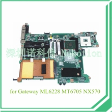 laptop motherboard for gateway ML6228 MT6705 NX570 4006174R 31MA7MB00A0 943GML DDR2