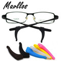 Mavllos High Quality Silicone Anti-slip Holder For Glasses Accessories Ear Hook Sports Eyeglass Temple Tip Free Shipping