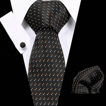 2019 Paisley 100% Silk Ties For Men Gifts Wedding Necktie Gravata Handkerchief Set Business Groom