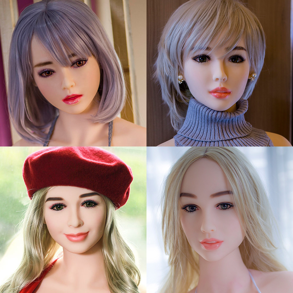 Hanidoll 140~170cm Height Sex Dolls Head for dolls Real silicone With Oral sex For Men sex dolt heads M16 screw real sex doll