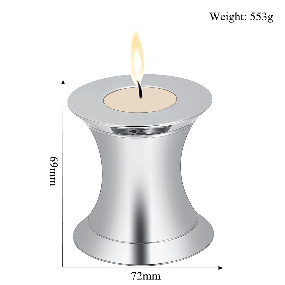 Free Engrave 316L Stainless Steel Keepsake Prayer Candle Holder Ash Urns Funeral Cremains Casket Candlestick for MemorialFree Engrave 316L Stainless Steel Keepsake Prayer Candle Holder Ash Urns Funeral Cremains Casket Candlestick for Memorial