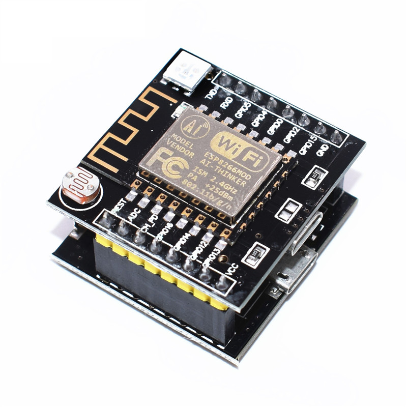 ESP8266 serial WIFI Witty cloud Development Board ESP-12F module MINI nodemcu