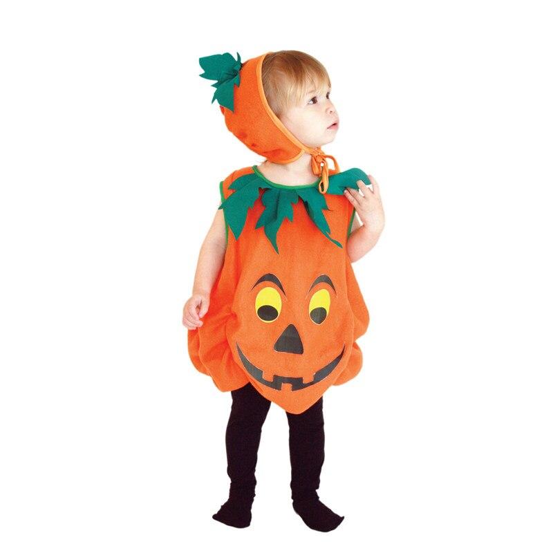 Umorden Halloween Costumes Child Kids Pumpkin Costume Cosplay Lovely Pumpkin Suit for Girl Boy Fancy Dress Outfit