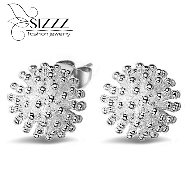 Cc Direct Selling New Classic None Geometric Fine Jewelry Brincos Stud Earrings 925 Earring 2015 Fashion Sterling Jewelry Women