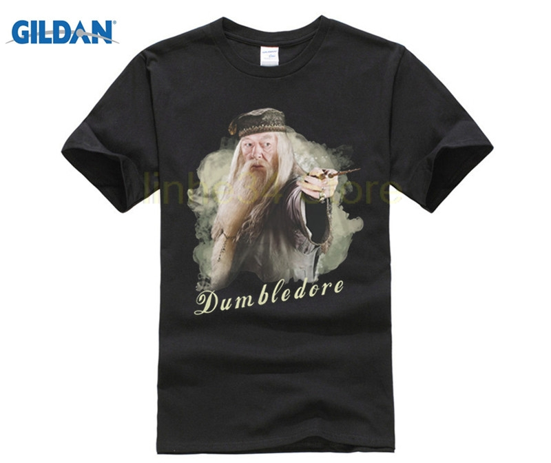 2018 hot sale funny Harry Professor Albus Dumbledore T Shirt, Potter T Shirt