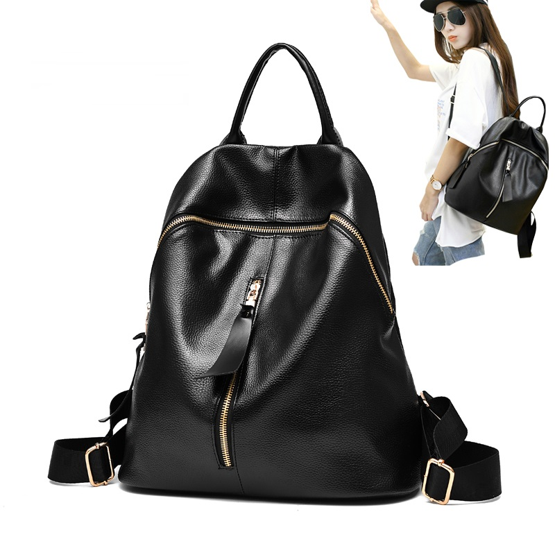 Women Leather Backpacks School Bags For Teenagers Girls Female Daily Backpack Ladies Shoulder Bag  Mochila Feminina 2016 New miwind new backpack women school bags for teenagers mochila feminina women bag free shipping leather bags women leather backpack