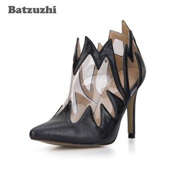 7ded627363 Batzuzhi-Botas de tobillo de moda hechas a mano para mujer