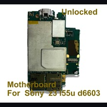 Unlocked Original Mainboard For Sony Xperia motherboard Z3 D6603,D6653 100% Working EU version With Full Chips Logic Board
