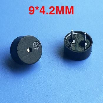 Nowy 9042 9*4 2mm elektromagnetyczny 09 pasywny brzęczyk magnetyczny Buzzers głośnik Alarm krótki igła souder 3V tanie i dobre opinie Żel krzemionkowy Wzmacniacz mikrofonowy