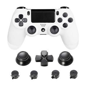 Image 5 - Metalen Duimgrepen Voor PS4 Controller Aluminium Vervanging Abxy Bullet Knoppen Duimknoppen Chrome D Pad Voor Sony Playstation 4