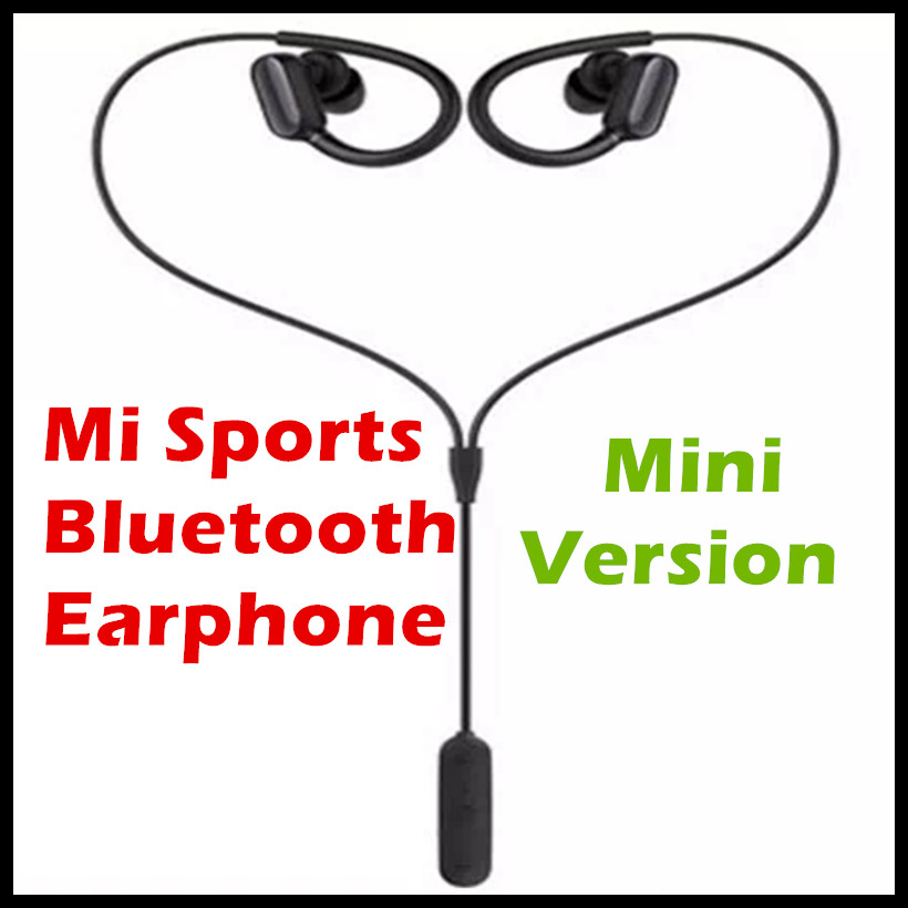 New Original Xiaomi Mi Sports Bluetooth Headset Mini Version Wireless Earbuds With Microphone Waterproof Bluetooth 4.1 Earphone 2017 new 3 in 1 mini bluetooth headset phone usb car charger escape safety hammer micro wireless earphone for xiaomi mi6 mi 6