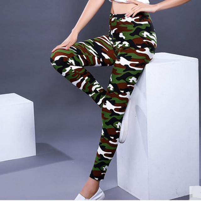 Casual camouflage Leg Warmer 8