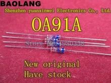 (10 ชิ้น/ล็อต) OA91A Germanium Diode,ติดต่อประเภท,OA91,0A91.
