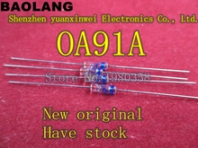 ( 10 pcs/lot ) OA91A Germanium Diode, Point Contact Type, OA91, 0A91.
