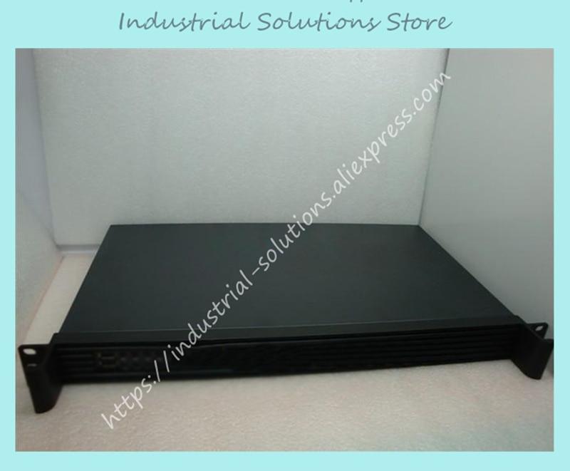 все цены на  NEW Ultra-short 1u computer case mini-itx motherboard 17 server computer case 25cm net  онлайн