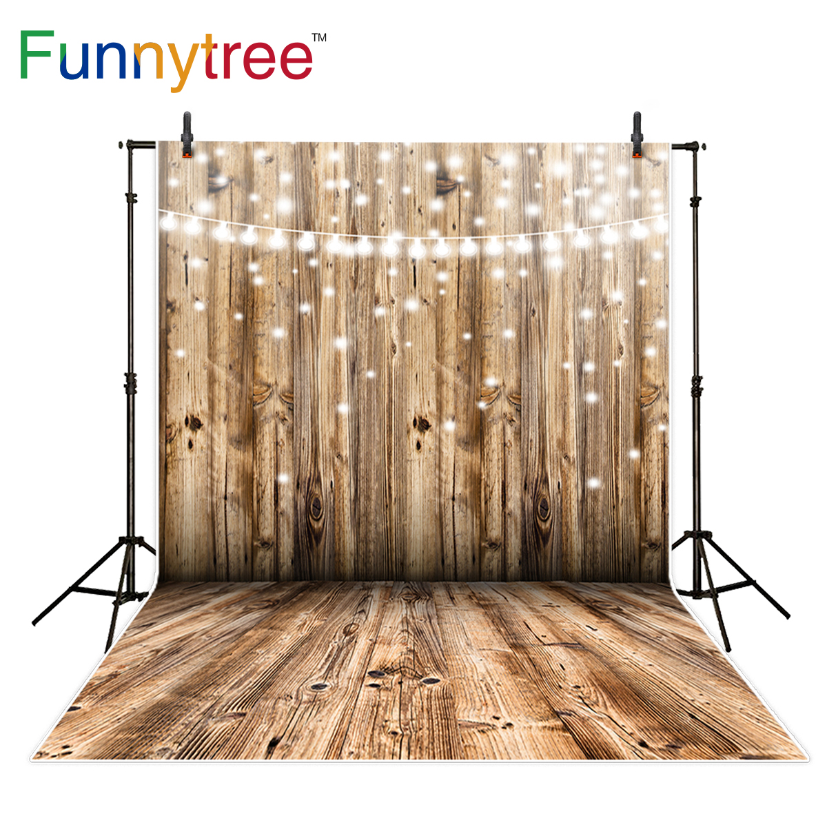 Funnytree wedding photography backdrop wood wall glitter bokeh shiny birthday background photo studio photobooth photo prop allenjoy background photography pink birthday table flower cake wood backdrop photocall photobooth photo studio
