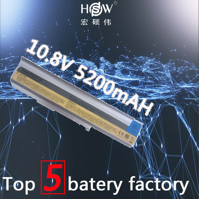 HSW 5200mAh 6cells Laptop Battery for IBM LENOVO 3000 N100 N200 C200 92P1186 92P1186 92P1188 42T5241 42T5256 92P1184 bateria карандаш для глаз pupa easy liner eyes 1 1 гр тон 326