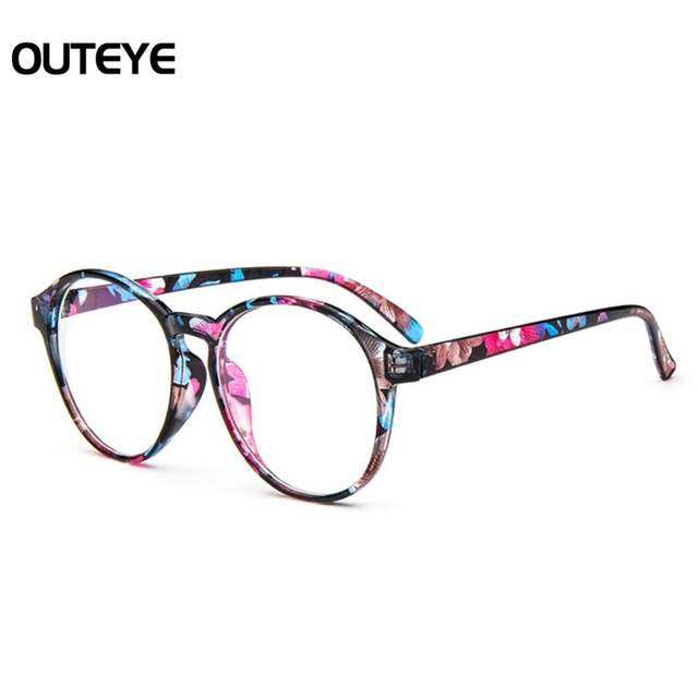 3457df76bdcc Online Shop Optical Glasses Frame Eyeglasses With Clear Lens Glass Men Women  Vintage Round Clear Transparent Women s Fake Glasses Frames