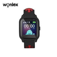 Wonlex KT04 1.3 インチ IPS 耐水性 IP67 水泳時計抗紛失 AGPS/ポンド/WiFi gps 測位 SOS ヘルパースマートウォッチ