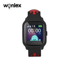 Wonlex reloj inteligente KT04 de 1,3 pulgadas, resistente al agua, IPS, IP67, natación, antipérdida, con AGPS/LBS/WiFi, posicionamiento GPS, SOS