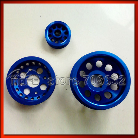 Underdrive Crank Pulley for Z33 350Z Engine Alloy Crank Alternator Idler Set