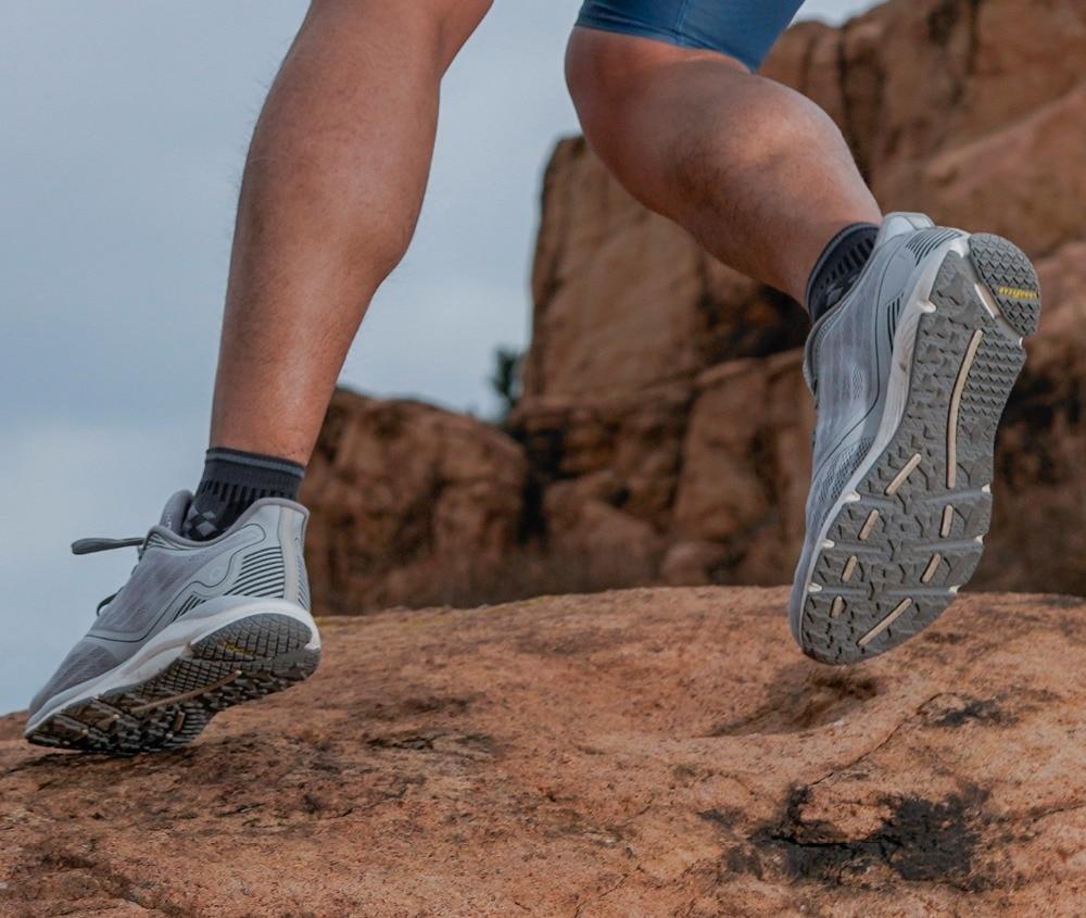 Original Xiaomi Amazfit Antelope luz zapatos inteligentes zapatillas deportivas al aire libre soporte de goma Chip inteligente (no incluido) pk Mijia 2 - 4