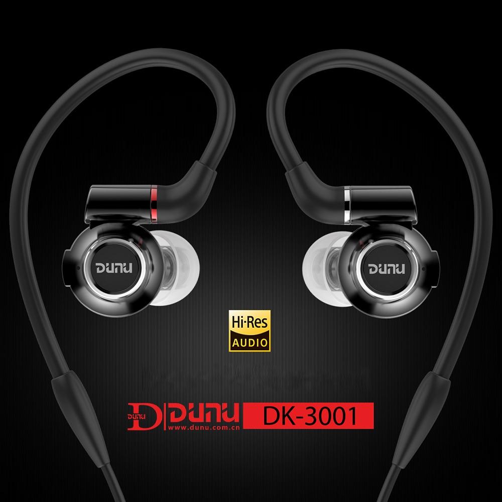 где купить DUNU DK-3001 Hi-Res 3BA+1Dynamic Hybrid Titanium Diaphragm Drivers With Detachable Cable DK3001 Earphones дешево