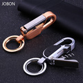 LED light keychain key ring bottle opener corkscrew waist hanging key chain key holder high quality portachiavi llaveros hombre