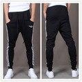 Hombres Nueva Moda Casual Flaco Joggers Pantalones de Chándal de Los Hombres Flaco Harem Pantalones de Chándal XXL NQ850794