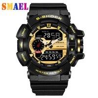 Fashion Sport Super Cool Gold Men S Quartz Digital Watch Men Sports Watches Luxury Brand LED