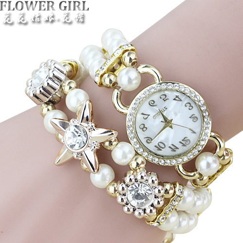 FLOWER GIRL Brand Quartz Watch Women Watches Ladies Luxury Bracelet Wrist Watch Female Clock Montre Femme Relogio Feminino Relog mjartoria ladies watches clock women quartz watch simple sport bracelet watch student girl female hand wrist watches for women
